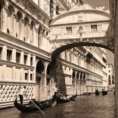 Венеция монохромная Фотообои DECOCODE 31-0016-WB (300х280см)