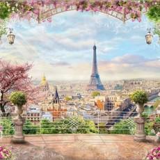 Декоративное панно Париж 294х260 (12 листов)  VIP