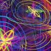 Декоративное панно Лазер-шоу 134х196 (4л)
