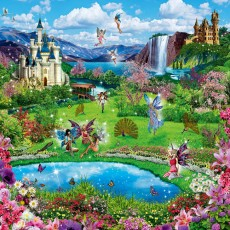 Декоративное панно VIP Райский уголок 294х260 (12л)