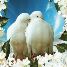Любовь и верность 134х98 Декоративное панно (2л)
