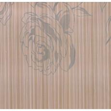 Пленка самоклеящаяся HONGDA 8597А Серые цветы на бежевом фоне 0,675х8м