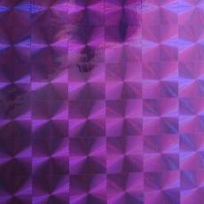 Пленка самоклеящаяся COLOR DECOR 0,45х8м Сиреневая Голография 1009