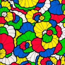 Пленка самоклеящаяся HONGDA 9008 Витражная, цветы 0,45х8м