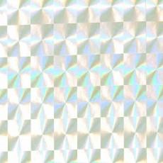 Пленка самоклеящаяся COLOR DECOR 0,45х8м Серебро голография 1006