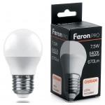 Лампа светодиодная 7.5W 230V E27 6400K G45 LB-1407 38076