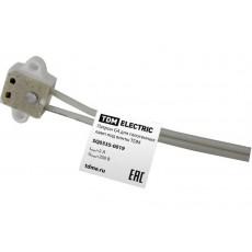 Патрон G4 для галогенных ламп под винты TDM SQ0335-0019