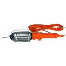 Светильник-переноска LUX ПР-60-15 оранжевый 15 м 60W Е27 металлический кожух (без лампы)
