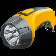 Фонарь Navigator 94 951 NPT-CP03-ACCU Пластик 4LED, прямая зарядка, аккумулятор 4В, 500 мАч