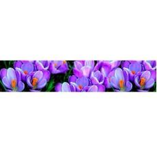 Кухонный фартук   ФФ  600*2000*1,5 мм Крокусы цветы