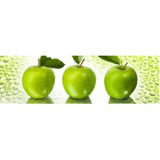 Кухонный фартук   ФФ  600*2000*1,5 мм яблоки