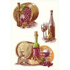Набор декоративных наклеек OK 1003 Декоретто Семейная винодельня