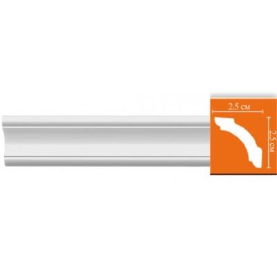Плинтус  потолочный DEKOMASTER-2 96251/100 (25х25х2400мм)