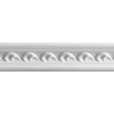 Плинтус потолочный 102 БЕЛЫЙ Антарес 1м
