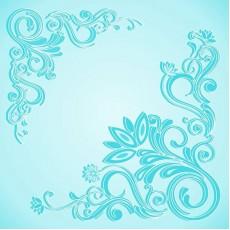 Плита потолочная Морозко голубая