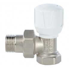 Клапан ручной терморегулирующий, угловой 3/4 STOUT