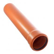 Труба НПВХ D 160х4,0 длина 3м