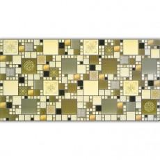 Панель ПВХ мозаика Модерн оливковый 0,4 мм