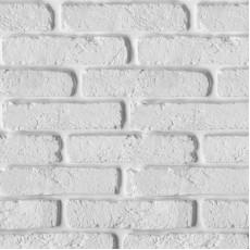Панель ПВХ № 347 Кирпич белый 2700х250х9