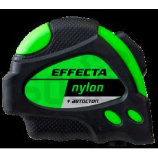 """Рулетка 3м*19мм """"EFFECTA"""" Nylon (автостоп, 2 магнита, боковые зацепы)"""