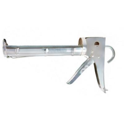"""Пистолет для герметика 310мл """"Blast"""" Pressor (полукорпусной оцинкованный, зубчатый шток)"""