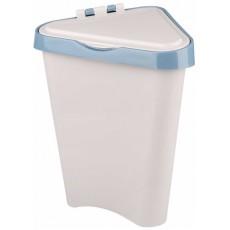 Контейнер для мусора угловой 7 литров (светло-серый) М7002