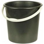 Ведро 10л (2 сорт) цвет черный