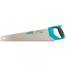 "Ножовка по дереву ""PIRANHA"", 500 мм,7-8 TPI, зуб-3D,каленый зуб,2-х компонентная рукоятка//GROSS 24101"