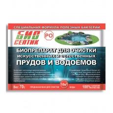 """Биопрепарат для очистки искусственных и естественных водоемов """"БиоСептик РО"""" 70 г"""