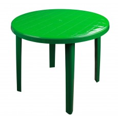 Стол круглый 900х900х750 мм зеленый