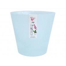 Горшок для цветов Фиджи Орхид D 160 мм/1,6 л голубой перламутр