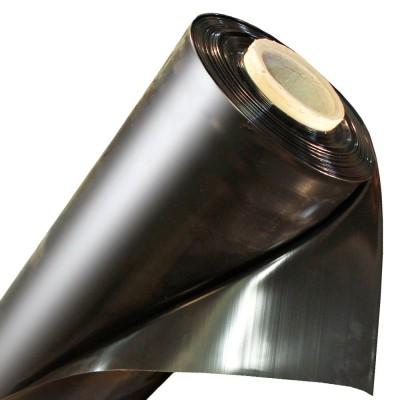 Пленка полиэтиленовая 120мкм 3м рукав черная (100м)