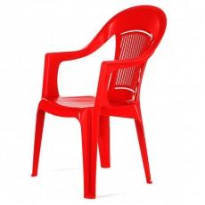 """Кресло пластиковое """"Фламинго"""" красное"""