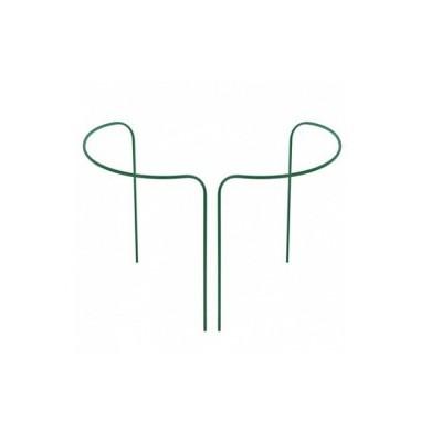 Кустодержатель круг большой h-0,9 м d-0,8 м труба металл в ПВХ d-10 мм 2 полукруга