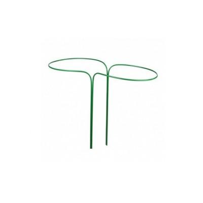 Кустодержатель круг малый h-0,7 м d-0,4 м труба металл в ПВХ d-10 мм 2 полукруга
