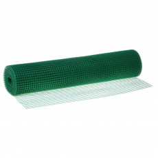 Сетка пластиковая от птиц и для птичников 'Урожайная сотка' 15х15 (1х20м) Зеленый