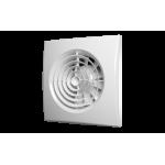 Вентилятор осевой вытяжной с обратным клапаном AURA белый 4C  D 100
