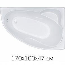 Ванна Triton ИЗАБЕЛЬ 170х100 без слива/перелива