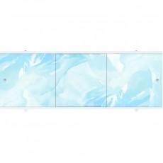Экран под ванну ПРЕМИУМ А 1,48 м (Голубой)
