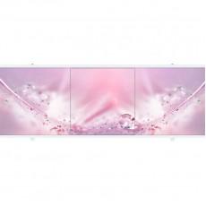 Экран под ванну ПРЕМИУМ А 1,48 м (Розовый)