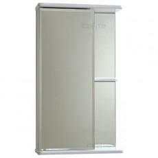 """Зеркальный шкаф """"Ника-50"""" фацет, левый"""
