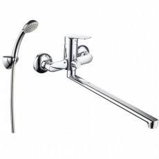 Смеситель для ванны с длинным изливом Milardo Horizont HORSB02M10