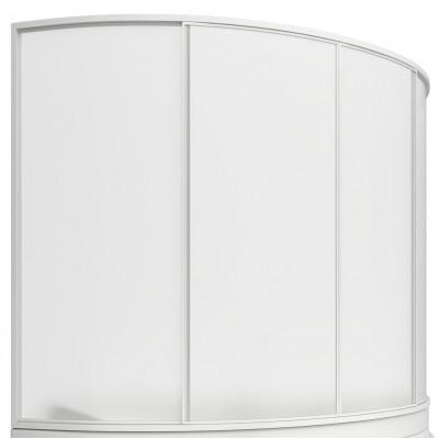 Штора для ванн BAS Николь 170см 4створки ,пластик,Watter