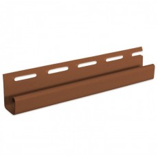 """Планка J-trim """"VOX"""" коричневый 3,05 м"""