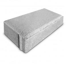 Тротуарная плитка Кирпич прессованный серый (200*100*60)