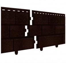 """Фасадная панель Кирпич """"Ю-Пласт"""" коричневый 3,035х0,23м"""