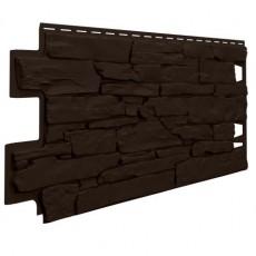Фасадная панель VILO Stone DARK BROWN 1,00х0,42м