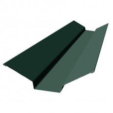 Планка ендовы верхняя 76х76х2000мм, ПЭ0,4мм, RAL6005 зеленый мох