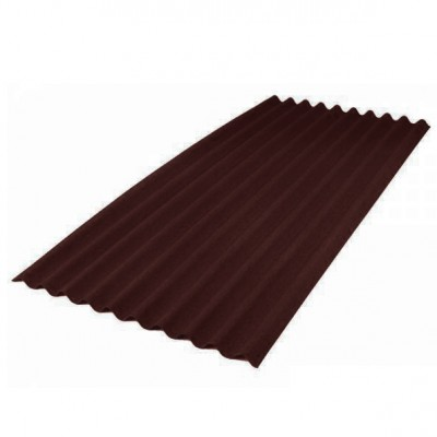 Ондулин SMART лист 1,95х0,95м коричневый