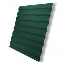 Профнастил С- 8 зеленый мох RAL 6005 1150х1500 мм